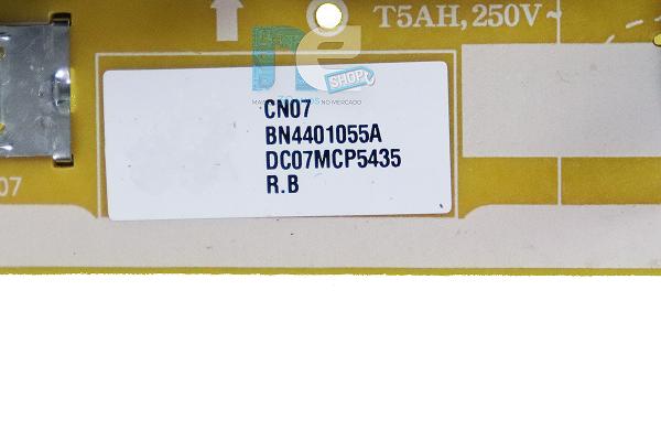 PLACA FONTE SAMSUNG UN65TU8000G BN44-01055A