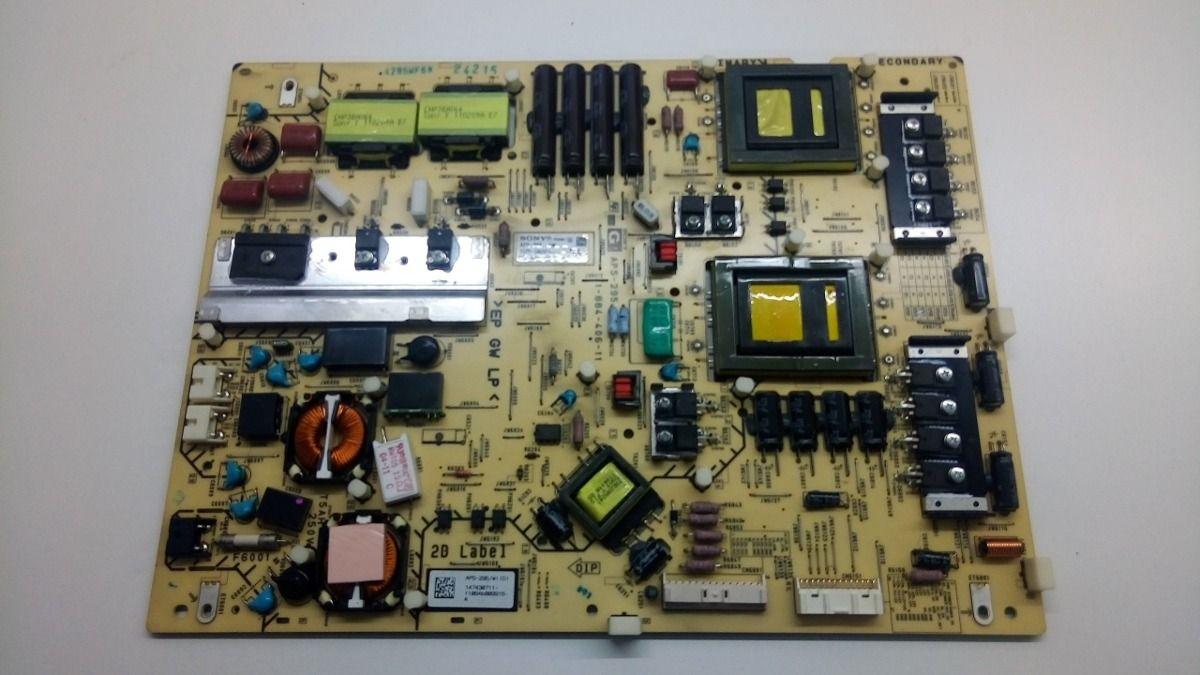 PLACA FONTE SONY KDL-46HX825 APS-295/W 1-884-406-11