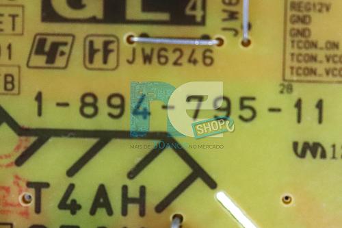 PLACA FONTE SONY KDL-49X835C 1-894-795-11
