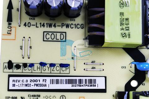 PLACA FONTE TCL 65P65US 40-L141W4-PWC1CG