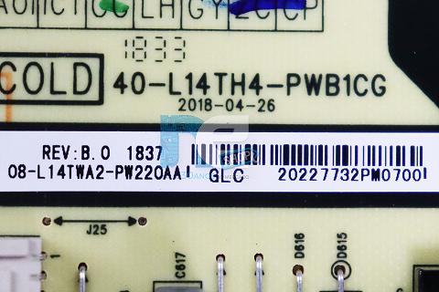 PLACA FONTE TCL L49S4900FS 08-L14TWA2-PW220AA