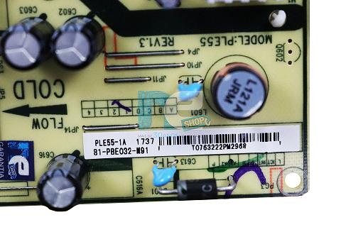 PLACA FONTE TOSHIBA 32L2600 L32S4900S 81-PBE032-M91
