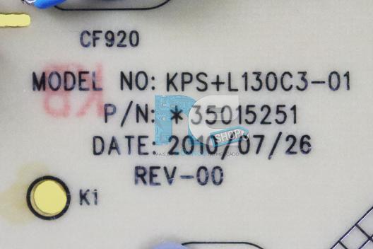 PLACA FONTE TOSHIBA LE3250(A)WDA LC3251FDA KPS+L130C3-01