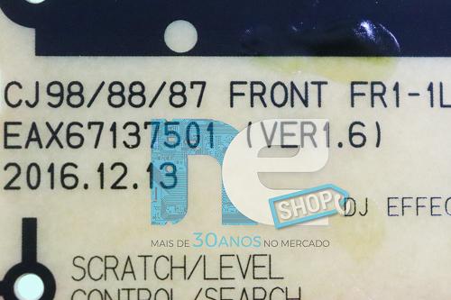 PLACA FRONTAL SOM LG CJ87 EBR83660202