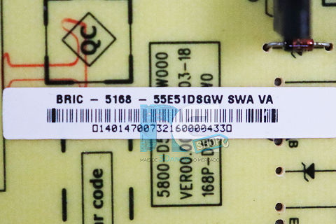 PLACA INVERTER PHILCO PH55E51DSGW 5800-D55EM0-W000