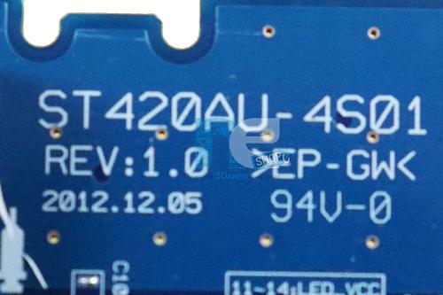 PLACA INVERTER SONY 42W655A ST420AU-4S01