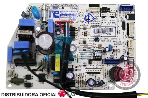 PLACA PRINCIPAL AR CONDICIONADO LG EBR85993106 S4NQ12JA3WC