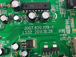 PLACA PRINCIPAL HBUSTER HBTV-22L05FD JUG7.820.1119-1