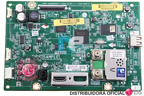 PLACA PRINCIPAL LG 28LF710B-P 28MT47D-PS EBU63202011 EBU63202012