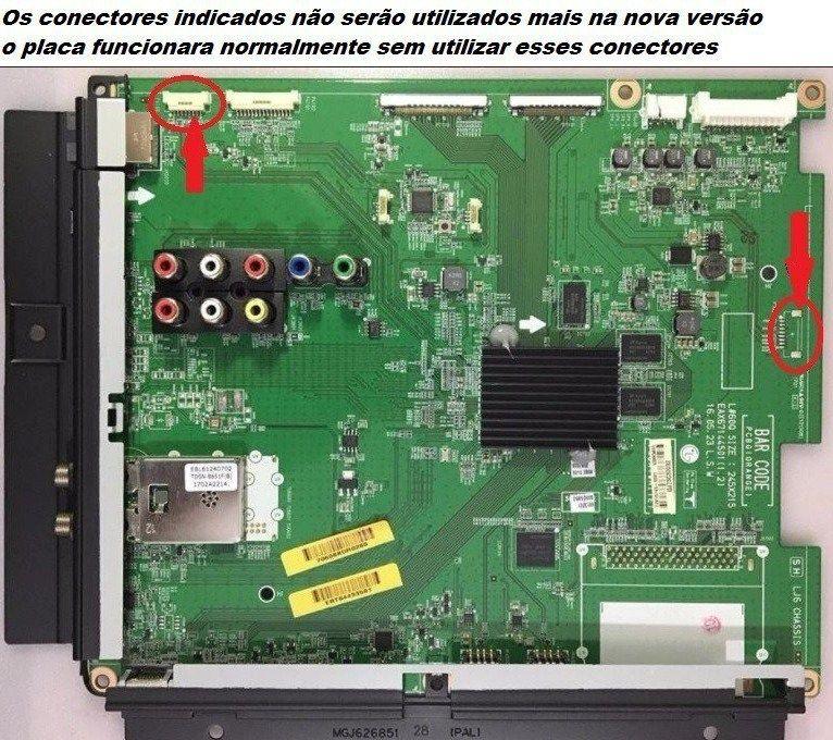 PLACA PRINCIPAL LG 42LV5500 47LV5500 55LV5500 NOVA VERSÃO