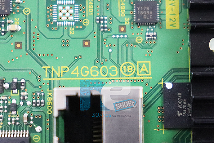 PLACA PRINCIPAL PANASONIC TC-32FS600B TNP4G603 V7013