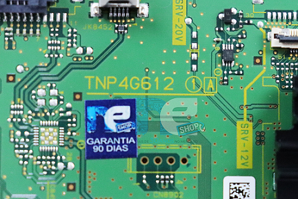 PLACA PRINCIPAL PANASONIC TC-43SV700B TPNP4G612 V7510