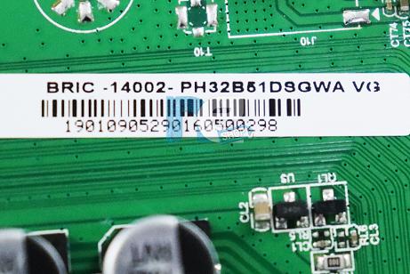 PLACA PRINCIPAL PHILCO PH32B51DSGWA V.G 1.30.1.RTD296801R