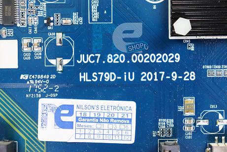 PLACA PRINCIPAL PHILCO PTV49F68DSWN 4K JUC7.820.00202029