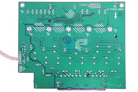 PLACA PRINCIPAL PHILIPS HOME HTS-5530 40-TS5520-AMD2G USA 4 STA516B