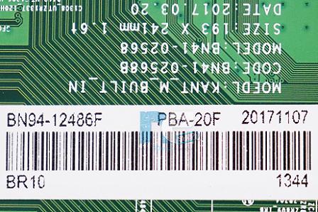 PLACA PRINCIPAL SAMSUNG UN55MU6300G BN94-12486F