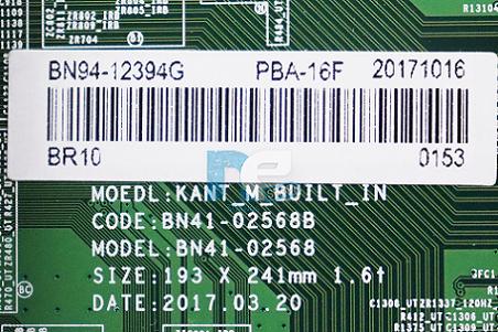 PLACA PRINCIPAL SAMSUNG UN55MU6500G BN94-12394G
