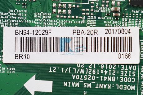 PLACA PRINCIPAL SAMSUNG UN55MU7000 BN94-12029F