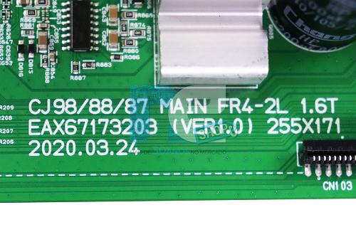 PLACA PRINCIPAL SOM LG CJ88 EBR83763402 EBR83763406 EBR83763415 CRB38123801