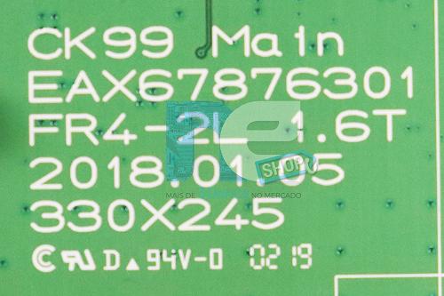 PLACA PRINCIPAL SOM LG CK99 EBR86326902 CRB38339401
