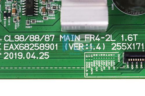 PLACA PRINCIPAL SOM LG CL87 EBR88920706 EBR85801003