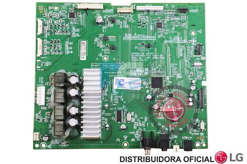 PLACA PRINCIPAL SOM LG OK75 EBR85801202 EBR85801221 EBR85801203