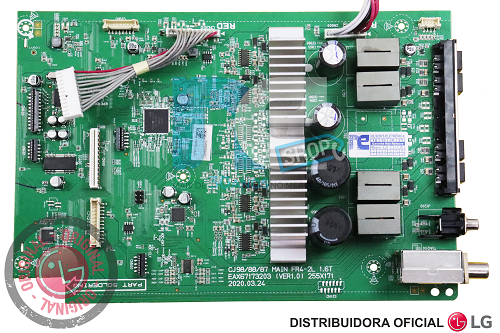 PLACA PRINCIPAL SOM ORIGINAL LG CJ87 EBR83763404 CRB38090001