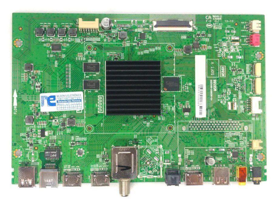 PLACA PRINCIPAL TOSHIBA TCL 65P65US 40-MS86H1-MAA2HG MS6586