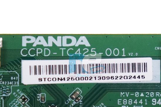 PLACA TCON AOC  43S5295/78G CCPD-TC425-001 ATENÇÃO CONECTOR