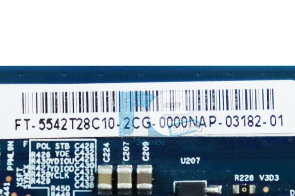 PLACA TCON PHILCO PH42E53SG 42PFL4508 LE42D7330 LE42D5520 50PFG4109 KDL-40EX405 42PFL3508 T500HVD02.0 CTRL BD