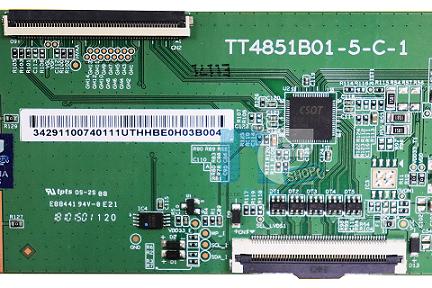 PLACA TCON PHILCO PTV49E68DSWN TT4851B01-5-C-1