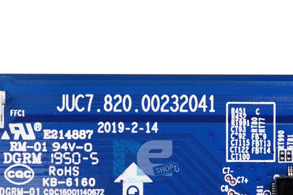 PLACA TCON PHILCO PTV55G70SBLSG 4K JUC7.820.00232041