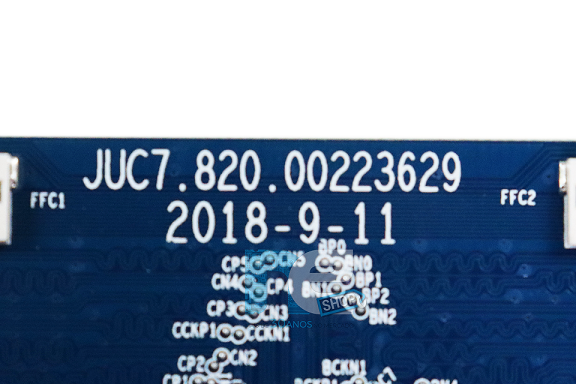 PLACA TCON PHILCO PTV58F80SNS  PTV58F60SNS PTV50E60SN PTV50F60SN PTV50G60SN JUC7.820.00223629