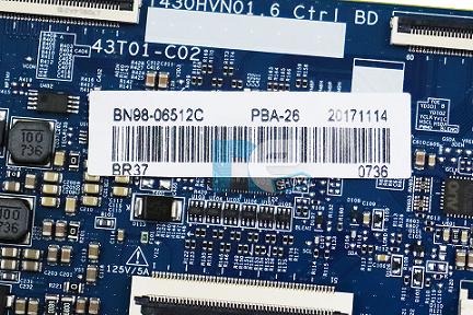 PLACA TCON SAMSUNG UN43J5200A BN98-06512C