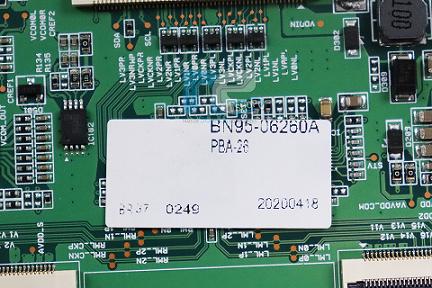 PLACA TCON SAMSUNG UN43T5300AG BN95-06260A