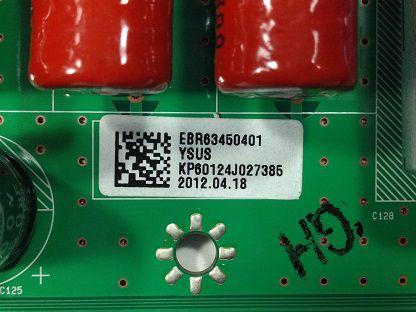 PLACA YSUS 60PK550 60PK950 60PX950 EBR63450401
