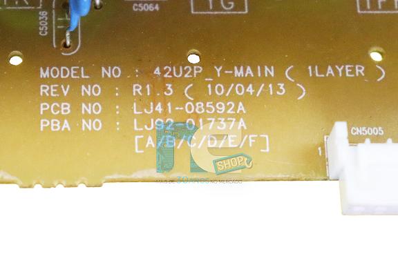 PLACA YSUS SAMSUNG PL42C450A1 PL42C450B1 LJ41-08592A