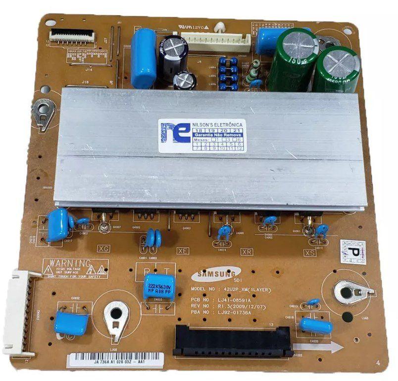PLACA ZSUS SAMSUNG PL42C430A1 PL42C450B1 LJ41-08591A