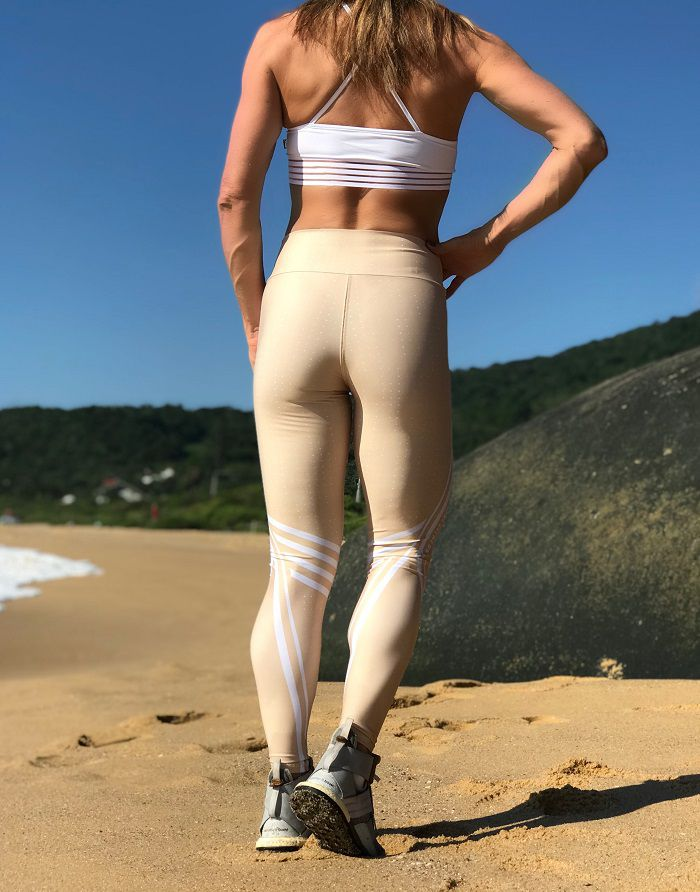 70261aca0 Legging Estampada Sublimada - SAND - Xóia! Fitness