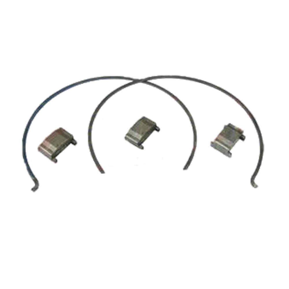 kit reparo das travas do sincronizador da caixa de transferência - tração - para S10 e Blazer com tração 4x4 de 1998 a 2011