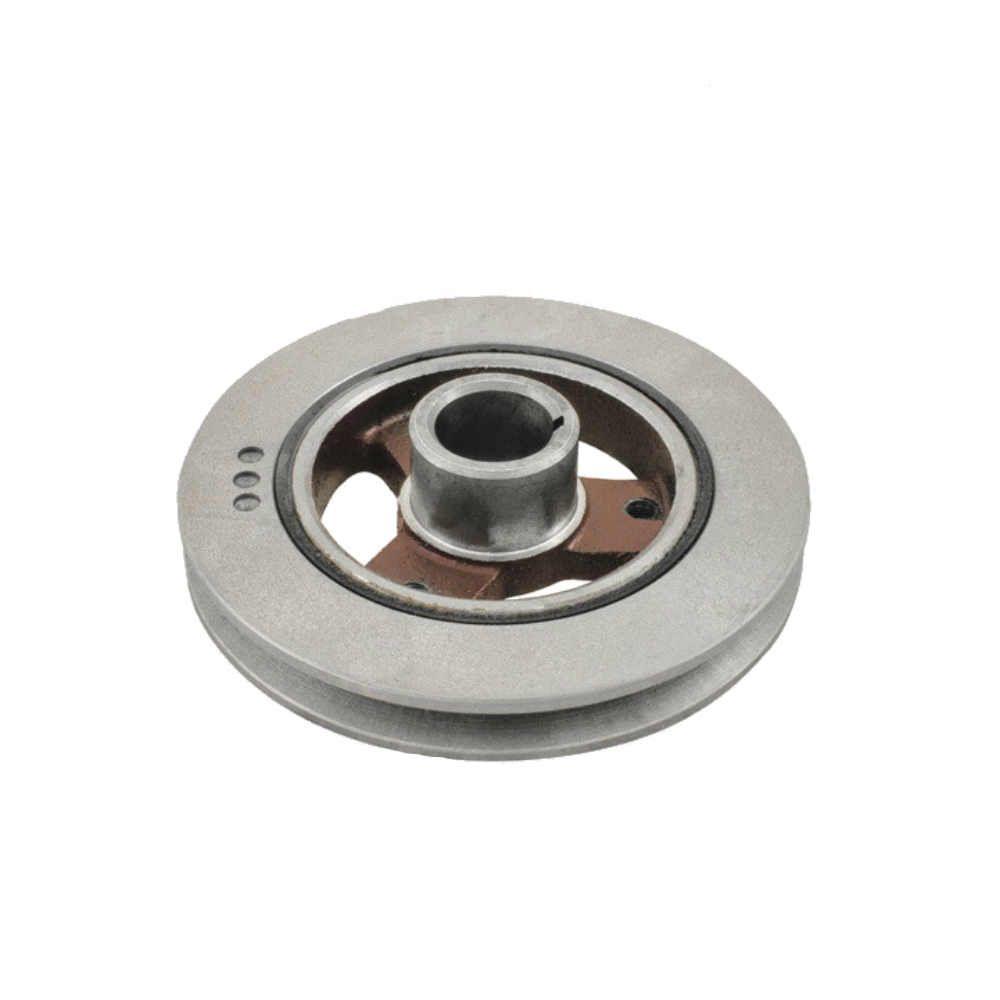 Polia simples com damper do virabrequim para Opala 4 cilindros  A10 C10 com motor Opala e A20 C20 como motor Opala 4 cil - cubo incluido