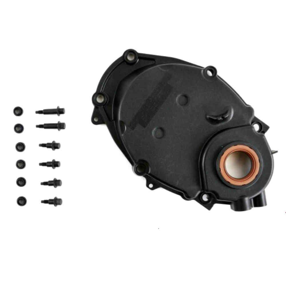 tampa da corrente de distribuição do motor Vortec 4.3 V6 para S10 e Blazer de 1996 a 2004