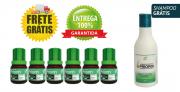 Cresce Pelo Extrato de Priorin - Tônico kit com 6 frascos + Shampoo FRETE GRÁTIS