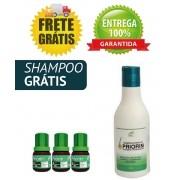 EXTRATO DE PRIORIN - KIT COM 3 TÔNICOS + 1 SHAMPOO GRÁTIS >> FRETE GRÁTIS <<