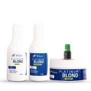 Kit Platinum Blond Cresce Cabelo Extrato de Priorin
