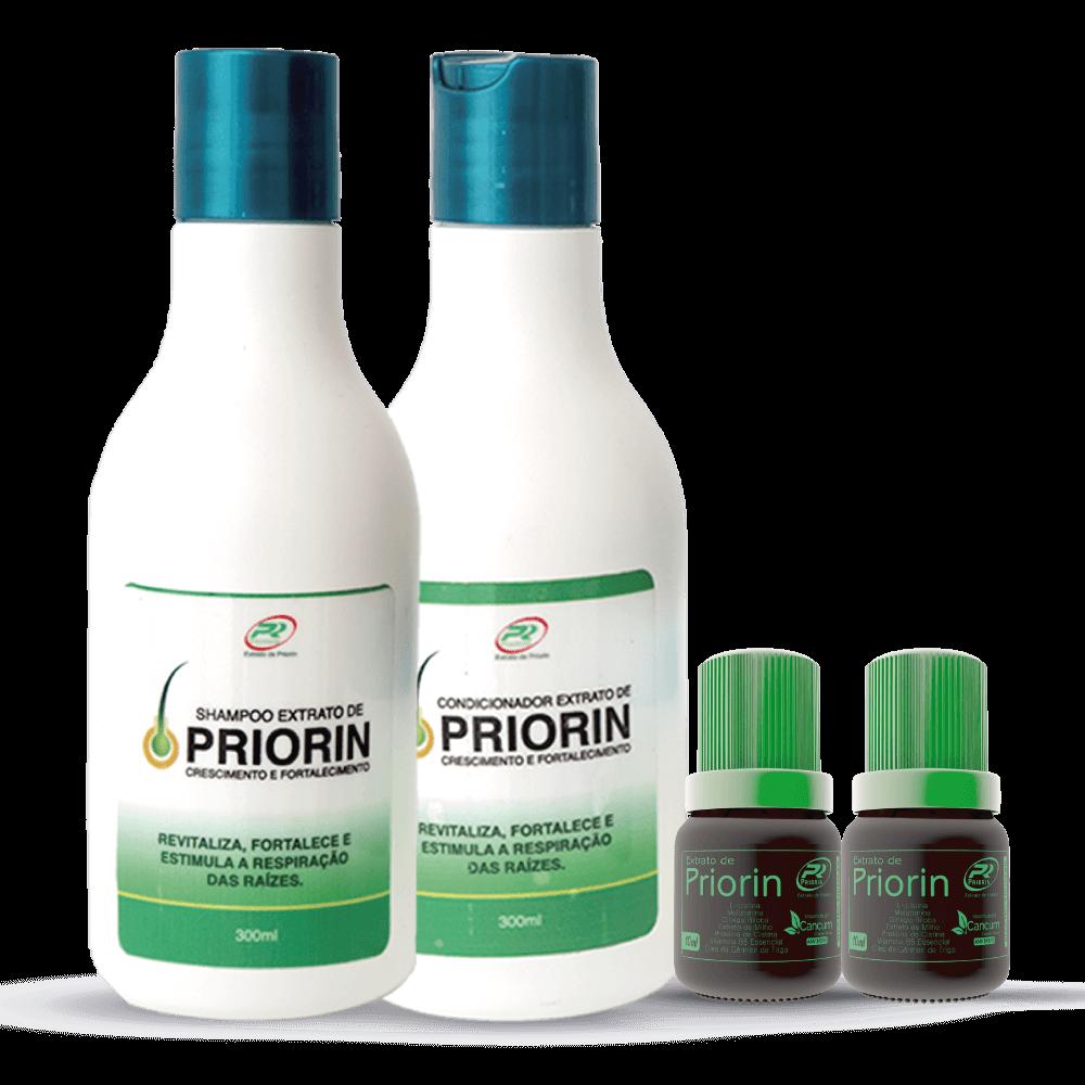 2 Tônicos Capilares (cresce cabelo) + Shampoo e Condicionador