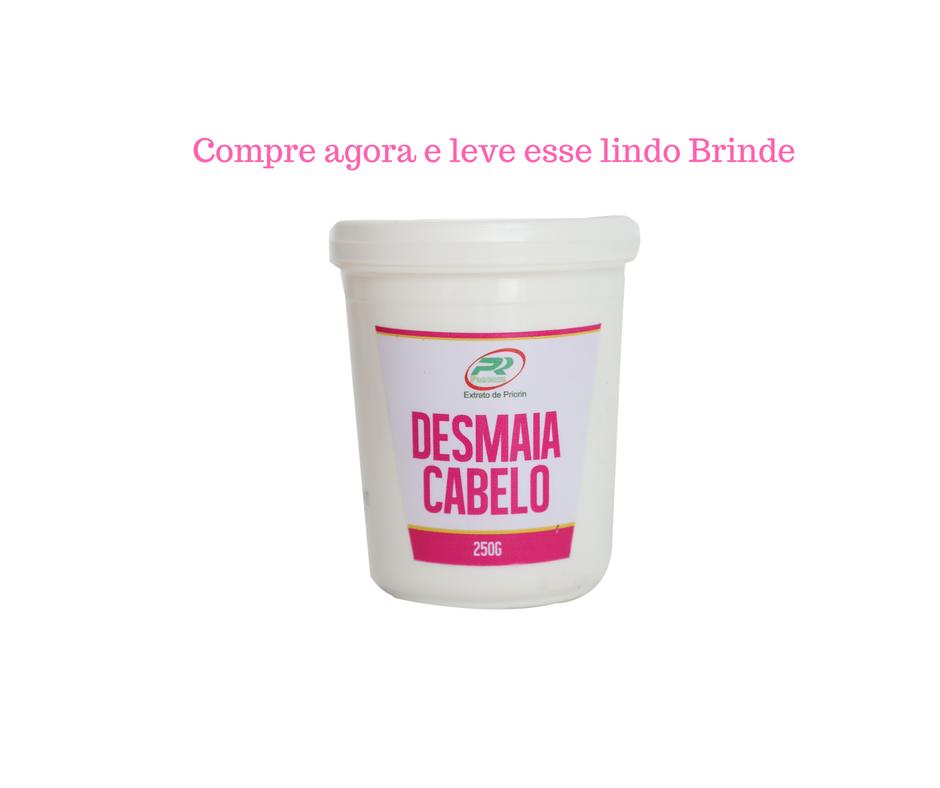 Cresce Cabelo Kit Completo Promoção Frete Grátis + Brinde Desmaia Cabelo
