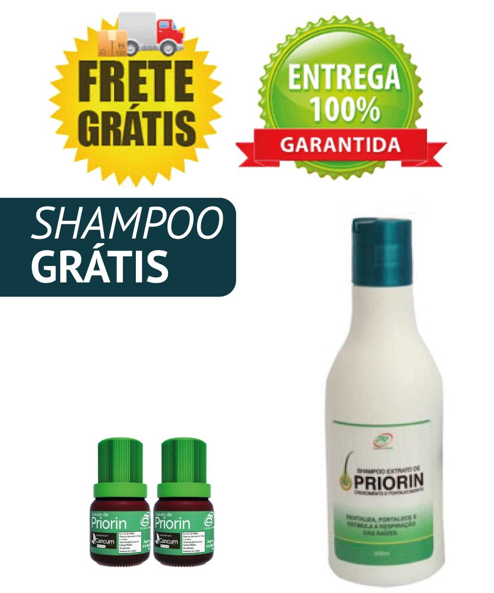 Cresce Cabelo Extrato de Priorin - 2 TÔNICOS + 1 SHAMPOO Oferta Especial Frete grátis