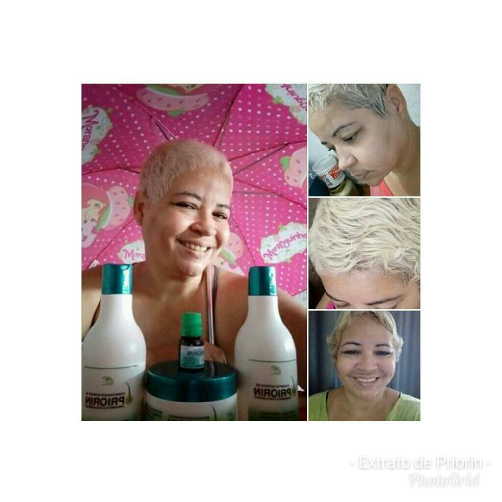 Kit Shampoo/Condicionador e 4 Tônicos Extrato de Priorin Super Oferta Frete Grátis
