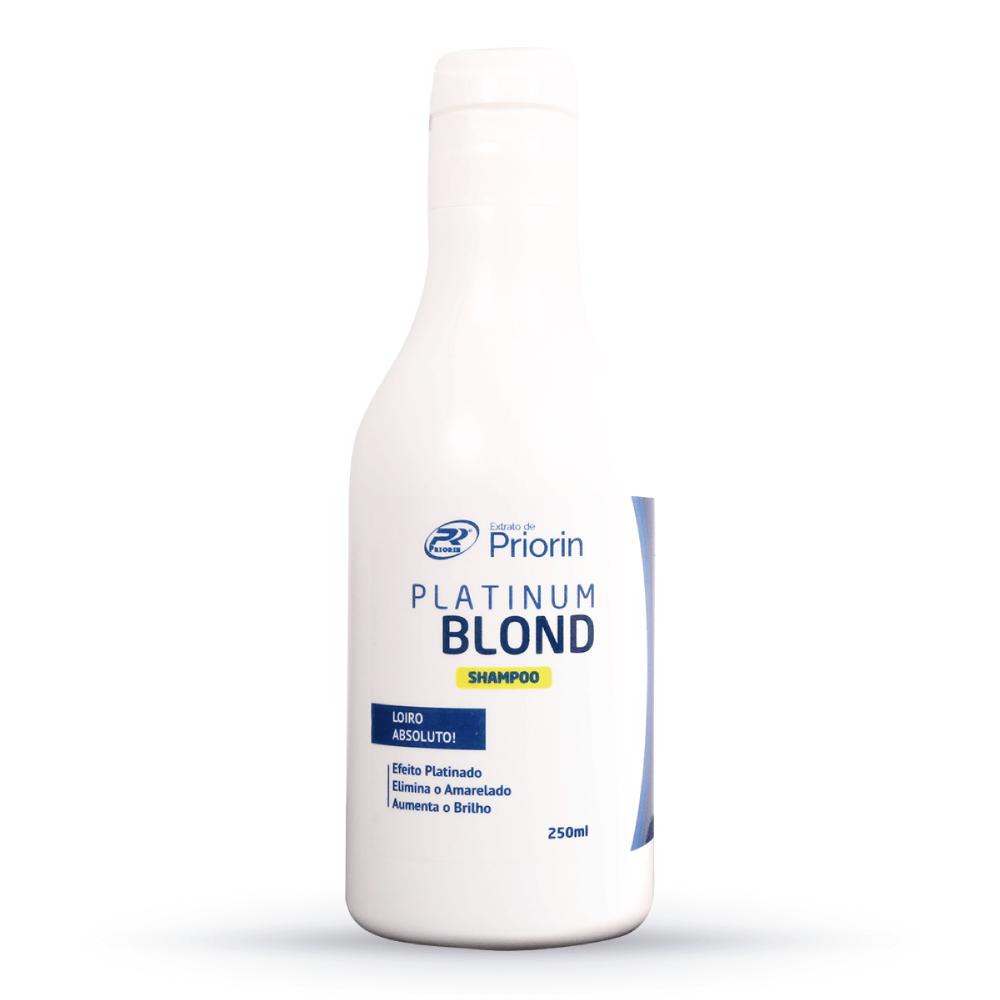Shampoo Platinum Blond Cresce Cabelo Extrato de Priorin